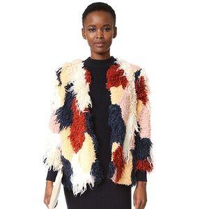 TULAROSA Pfeiffer Faux Fur Coat, Size Small